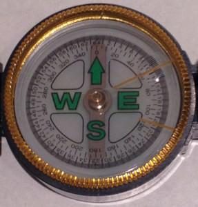 Kompass von Christiane Witt - Feng Shui Beratung