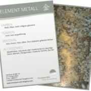 Element Metall Sammelkarte von Christiane Witt - Feng Shui Beratung