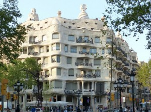 Element Wasser: Gaudi Haus Barcelona von Christiane Witt Feng Shui Beratung