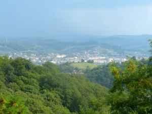 Blick ins Tal in Mediasch in Siebenbürgen in Rumänien- Christiane Witt - Feng Shui Beratung