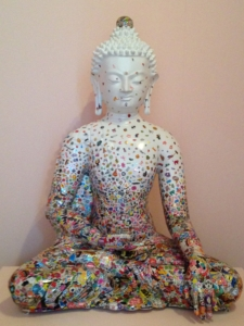 sitzender Buddha Ungezähmte Begegnung von Gonkar Gyatso (2012) - Christiane Witt - Feng Shui Beratung