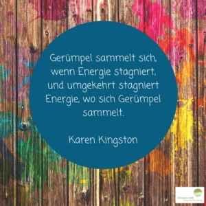 Zitat von Karen Kingston