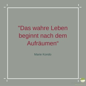 Zitat von Marie Kondo