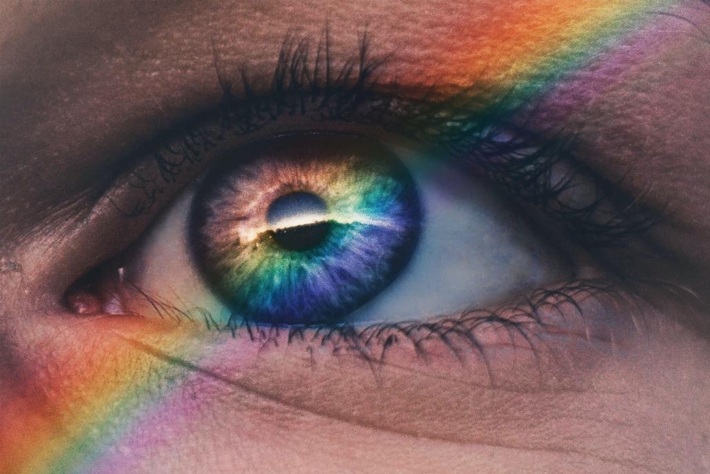 Auge mit Regenbogen Christiane Witt Feng Shui Beratung