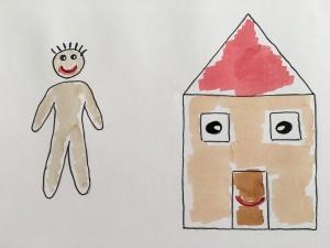 Vergleich Mensch und Haus von Christiane Witt - Feng Shui Beratung