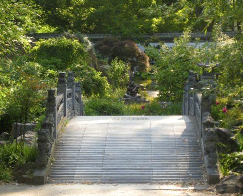Brücke im chinesischen Garten Frankfurt am Main Christiane Witt - Feng Shui Beratung