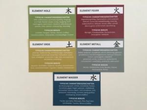 Fünf-Elemente-Charaktereigenschaften - Christiane Witt - Feng Shui Beratung