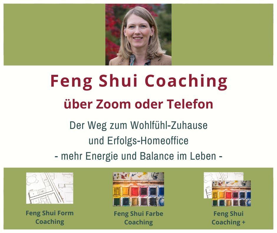 Feng Shui Coaching über Zoom oder Telefon - Christiane Witt - Feng Shui Beratung