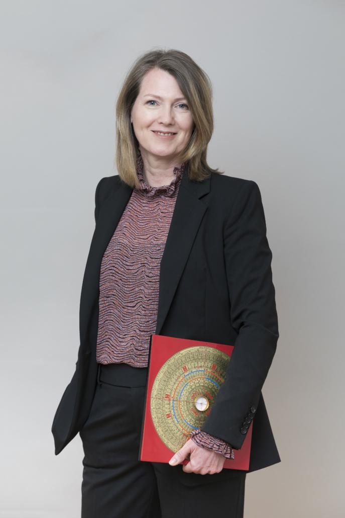 Christiane Witt - Feng Shui Beratung - Business Feng Shui - mit Kompass