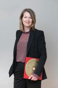 Christiane Witt mit Kompass Druckgröße